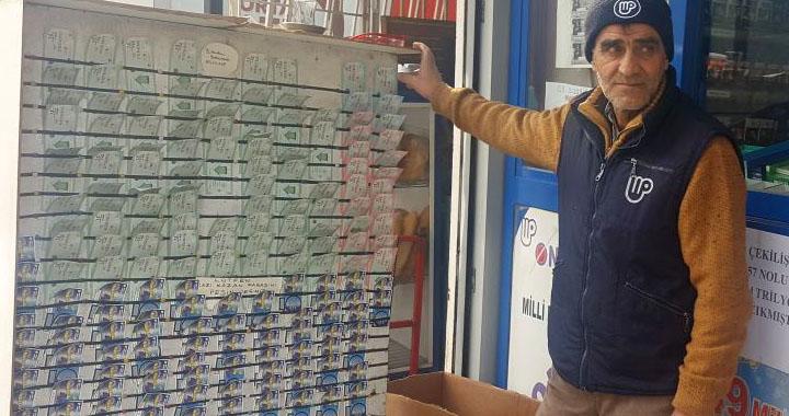Piyango bu hafta Akhisar'a çıktı! Tam 4 Milyon TL