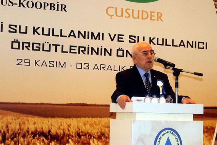 TÜS-KOOP BİR Başkanı Uysal'dan basın açıklaması