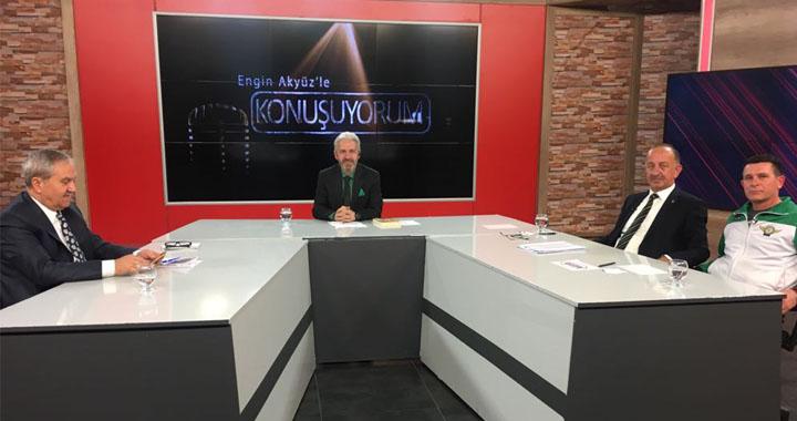 Konuşuyorum'da T.M Akhisarspor masaya yatırıldı