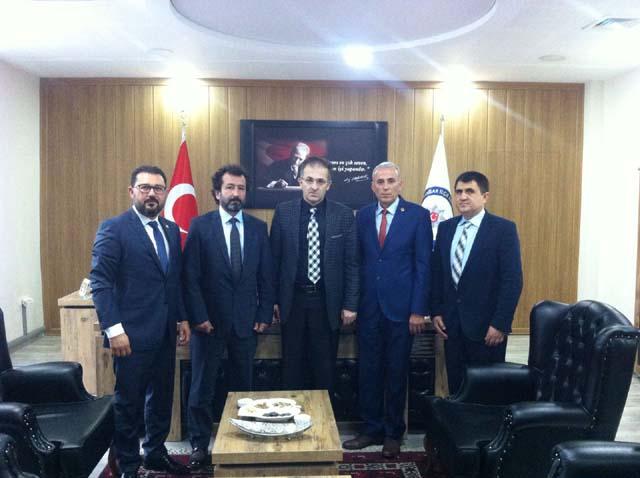 TEMAD'tan Engin Pınar'a ziyaret