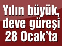 Yılın büyük, deve güreşi 28 Ocak'ta