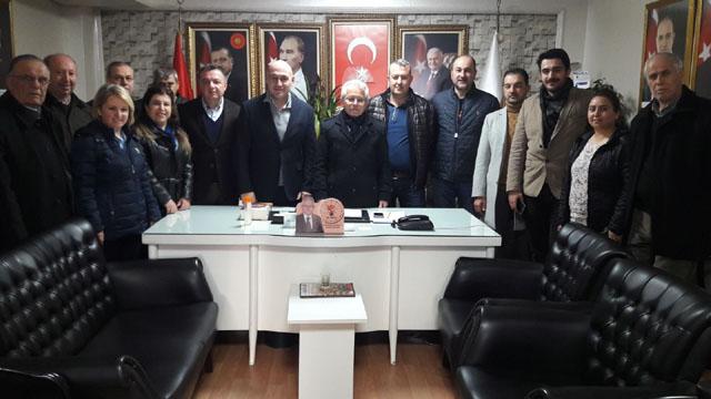 Borsa'dan AK Parti'ye Ziyaret