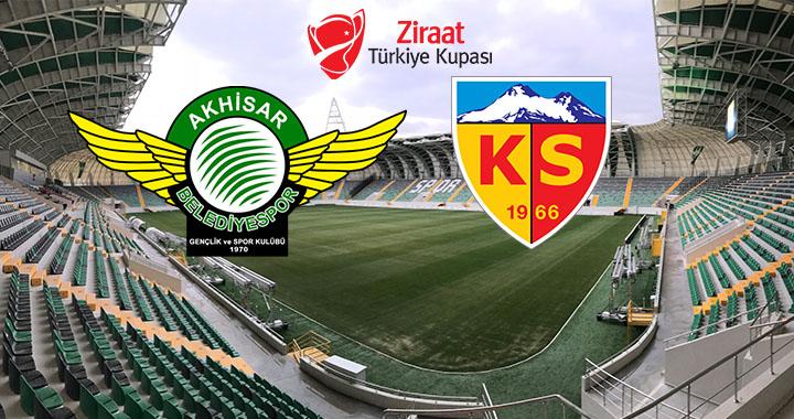 T.M. Akhisarspor ile Kayserispor ZTK maçı tarih ve saati belli oldu