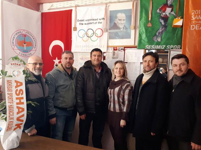ASHAVK'tan Oryantiring İl temsilcisi Taran'a hayırlı olsun ziyareti