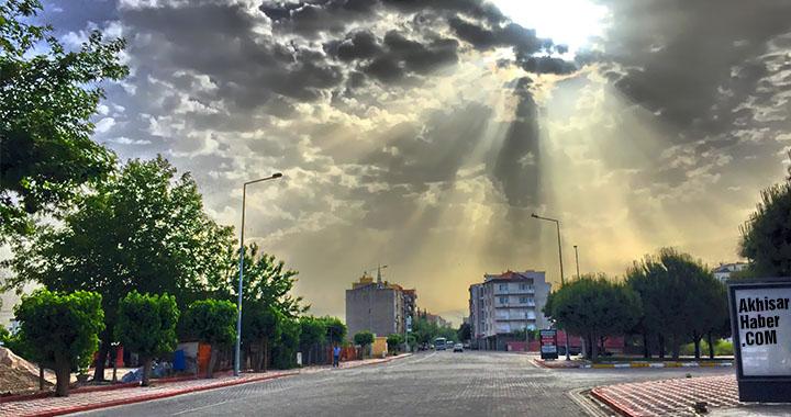 Akhisar'da hafta sonu hava nasıl olacak!