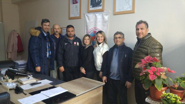 Zeynep Gülin Öngör MTAL SK'dan, Oryantiring İl Temsilcisi Figen Taran'a ziyaret