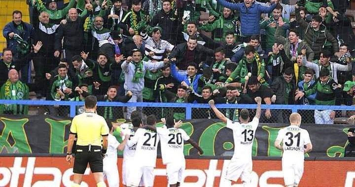 T.M Akhisarspor 3 puanı 3 golle aldı