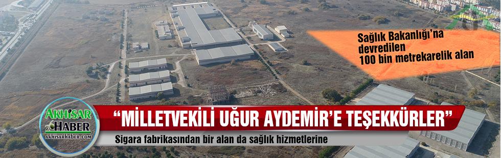 Sigara fabrikasından bir alan da sağlık hizmetlerine