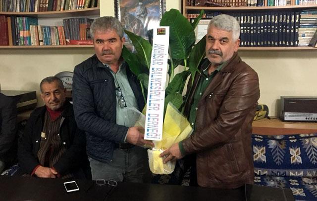 Balıkesirliler Derneği, Erzurumlular Derneğine iade-i ziyarette bulundu