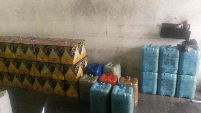 Akhisar'da akaryakıt kaçakçılığı; 7 bin litre akaryakıt ele geçirildi!