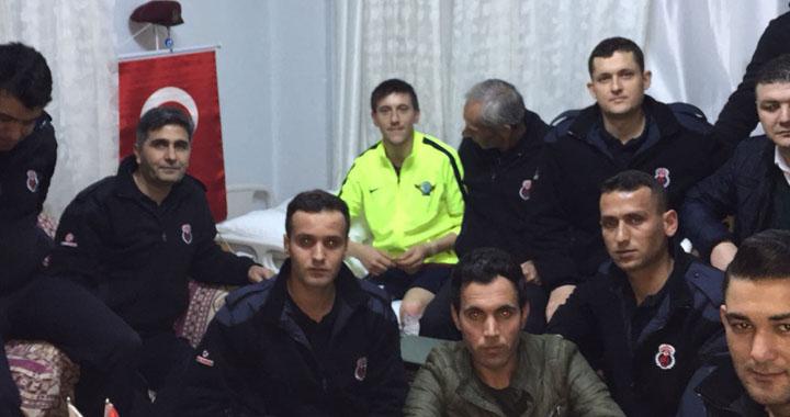 Akhisar T Tipi Cezaevinden Afrin Gazisi Işık'a ziyaret
