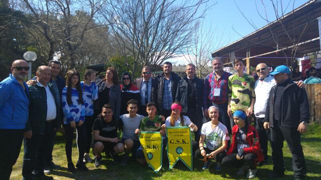 ASHAVK, Urla'da yapılan oryantiring yarışlarına katıldı