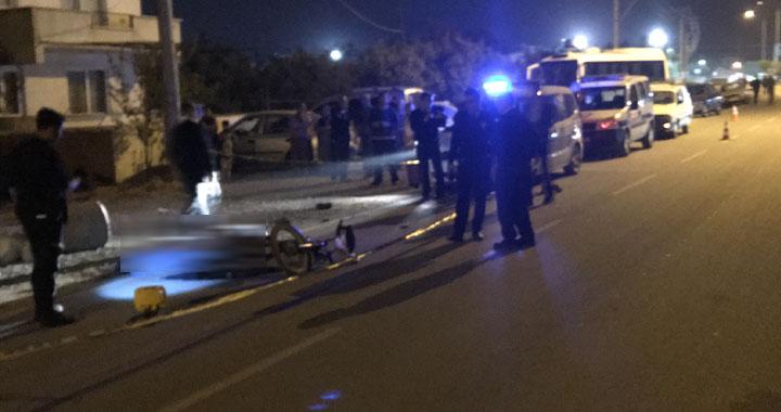 Akhisar'da şehir merkezinde kaza 1 kişi hayatını kaybetti