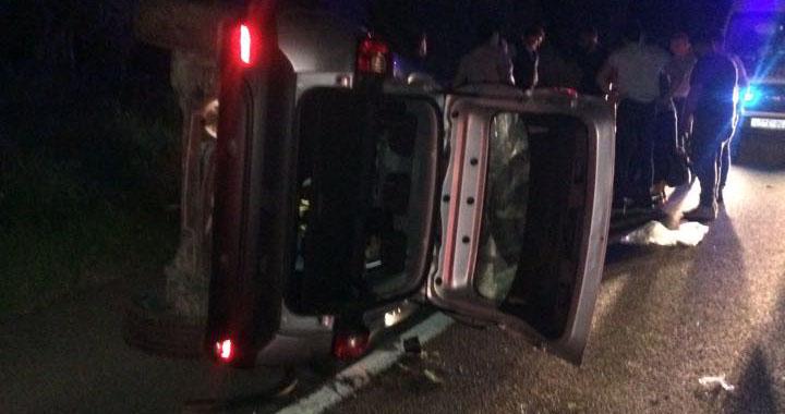 Akhisar-Balıkesir yolunda kaza 4 yaralı
