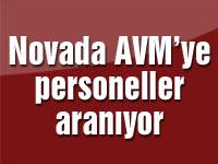 Novada AVM'ye personeller aranıyor