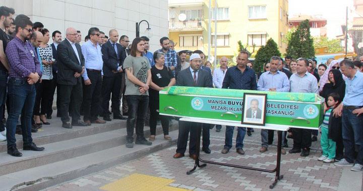Avukat Erkan Gül, Adliye önünde son yolculuğuna uğurlandı