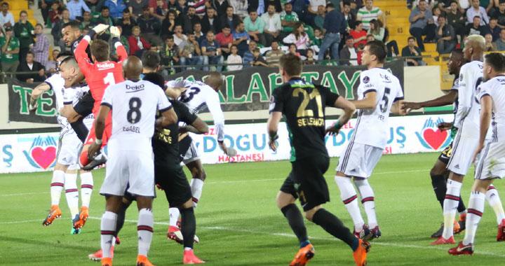 Akigo evinde Beşiktaş'a 3-0 mağlup oldu