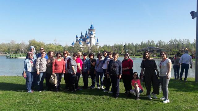 Aybek Turizm bu hafta sonu da gezi şov yaptı