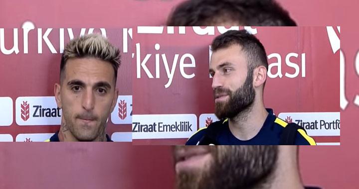 Maçın ardından Miguel Lopes ve Mustafa Yumlu maçı değerlendirdi