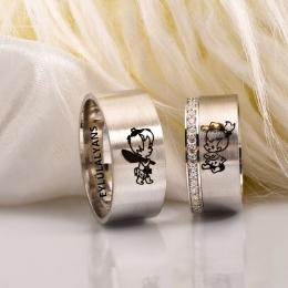 Klasik Gümüş Alyansların Modası Hiç Geçmiyor!