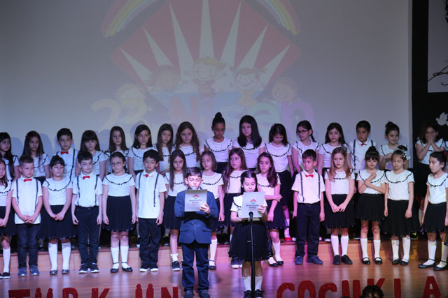 23 Nisan Ulusal Egemenlik ve Çocuk Bayramı, Bahçeşehir Kolejinde coşkuyla kutlandı