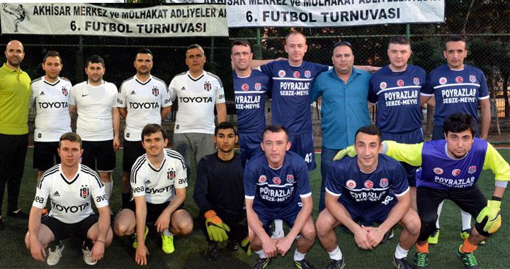 İlçe Adliyeler arası futbol turnuvasında Finalistler Belli oldu