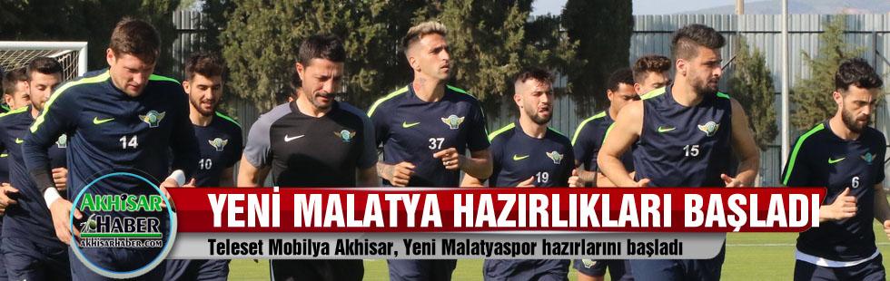 Teleset Mobilya Akhisar, Yeni Malatyaspor hazırlarını başladı