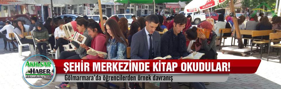 Gölmarmara'da öğrencilerden örnek davranış