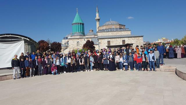Ayvaz Dede İmam Hatip Ortaokulu Kapadokya-Konya turundan döndü