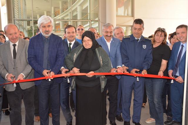 Halk Eğitim ve Ruh Sağlığı Merkezi el ürünleri sergisi açıldı