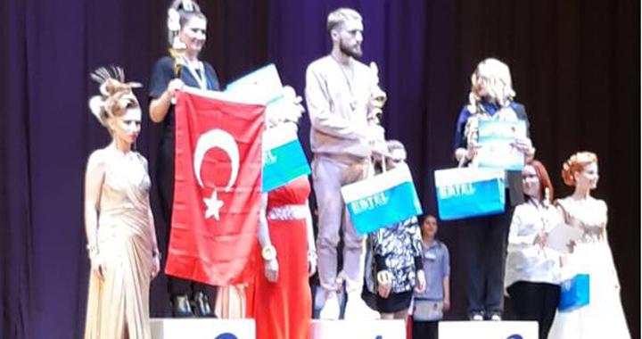 İSSE Kuaför Selda Karaca, Cup of Eurasia ikincisi oldu