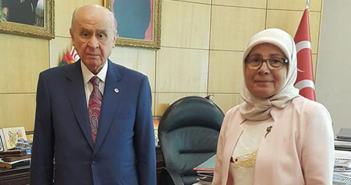 Nurhan Selçuk MHP'den aday adaylığını açıkladı