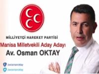 MHP Milletvekili Aday Adayı Av. Osman Oktay