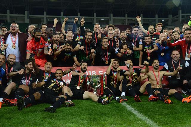 UEFA'dan TM Akhisarspor'a tebrik