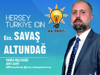 AK Parti Milletvekili Aday Adayı Ecz. Savaş Altundağ