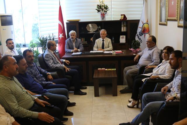 AK Parti ilçe başkanı Sayın; Kudüs bizim kırmızı çizgimizdir
