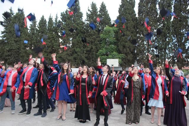 Çağlak Anadolu Lisesi 2018 mezunlarını uğurladı