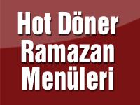 Hot Döner Ramazan menüleri