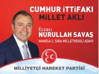 Milliyetçi Hareket Partisi Milletvekili Adayı Nurullah Savaş