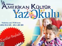 Amerikan Kültür Dil Kursundan çocuklar için yaz kursu