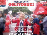 CHP Manisa 6.sıra Milletvekili Adayı Hayriye Hacet