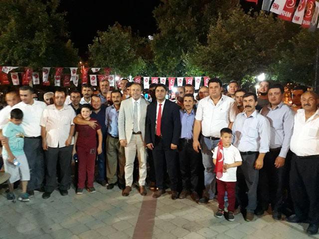 MHP'li Savaş; Cumhur ittifakına destek büyüyor