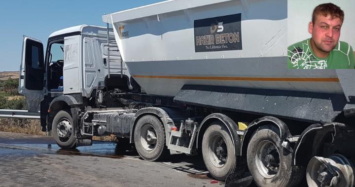 Yol üzerinde mola veren kamyon şoförü canından oldu