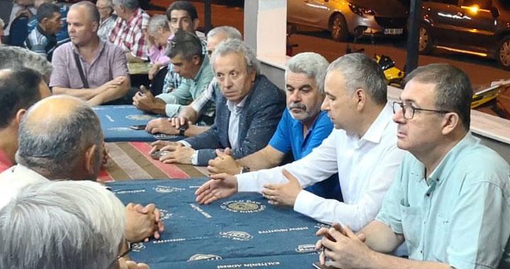 CHP Manisa Milletvekili Adayı Bakırlıoğlu'ndan Erzurumlular Derneğine ziyaret