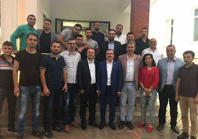 AK Parti Manisa Milletvekili Uğur Aydemir, Turgutlu ilçesini ziyaret etti