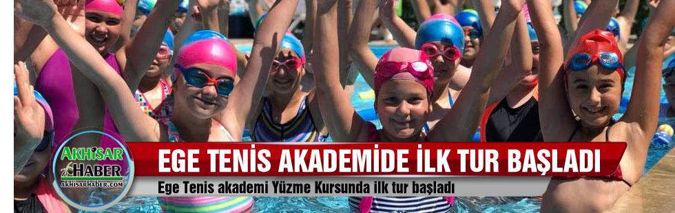 Ege Tenis Akademi Yüzme Kursunda ilk tur başladı