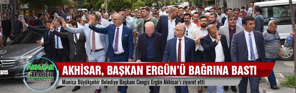 Akhisar, Başkan Ergün'ü bağrına bastı