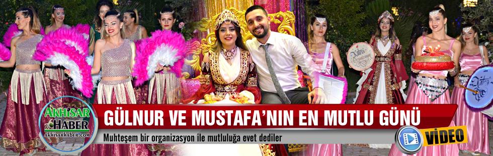 Gülnur ve Mustafa'nın en mutlu günü