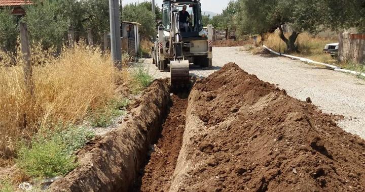 Seyitahmet Mahallesi'ne yeni içme suyu hattı