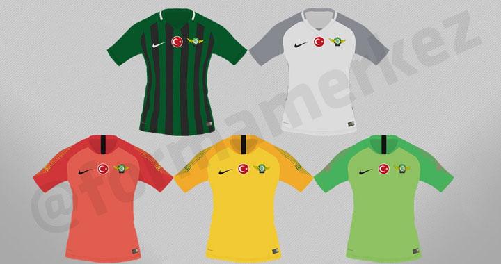 Akhisar Belediyespor'un 2018-2019 sezonu formaları belli oldu